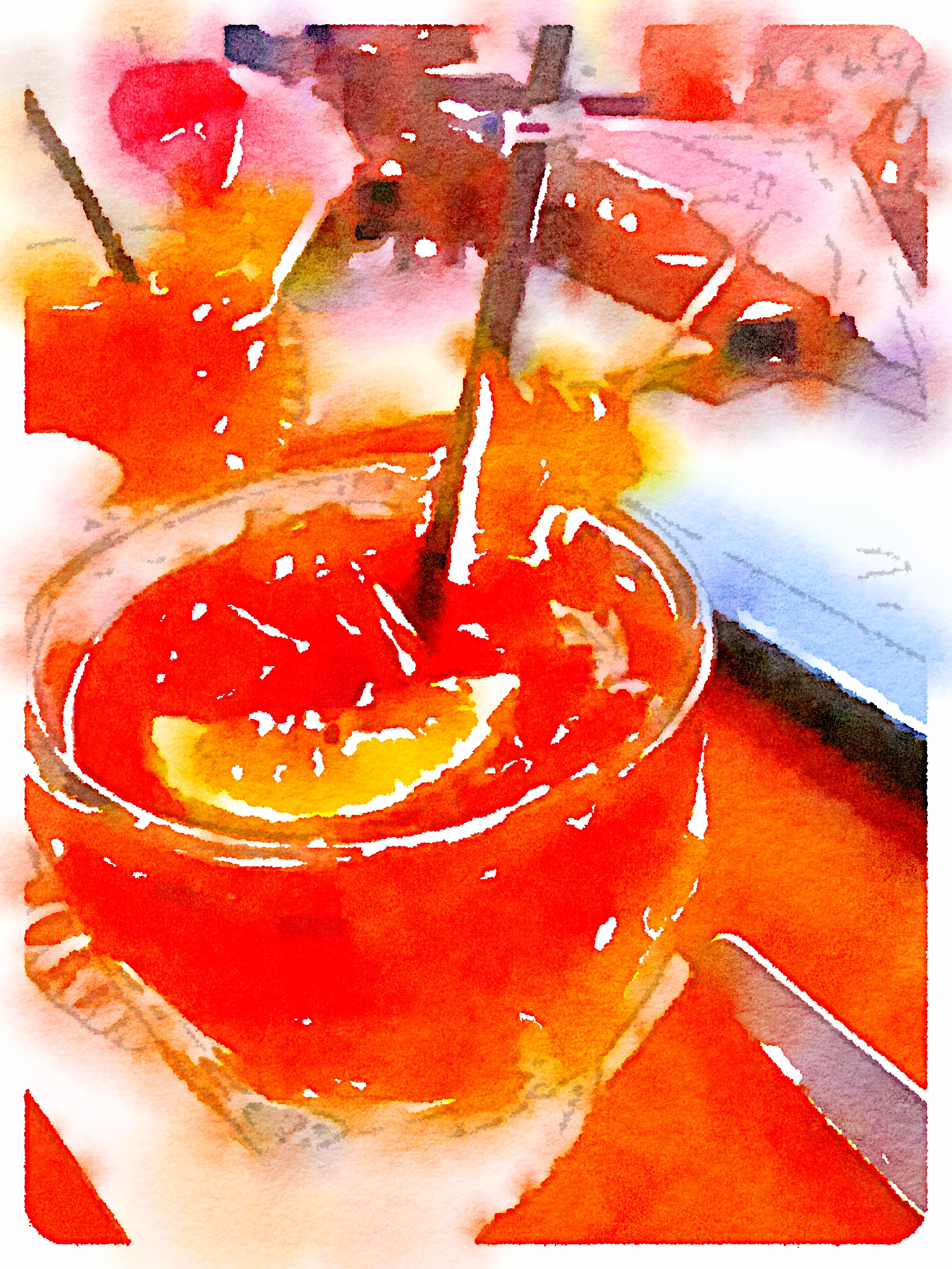 Use your own photos and create watercolor art using Waterlogue App - so fun and easy to use!!