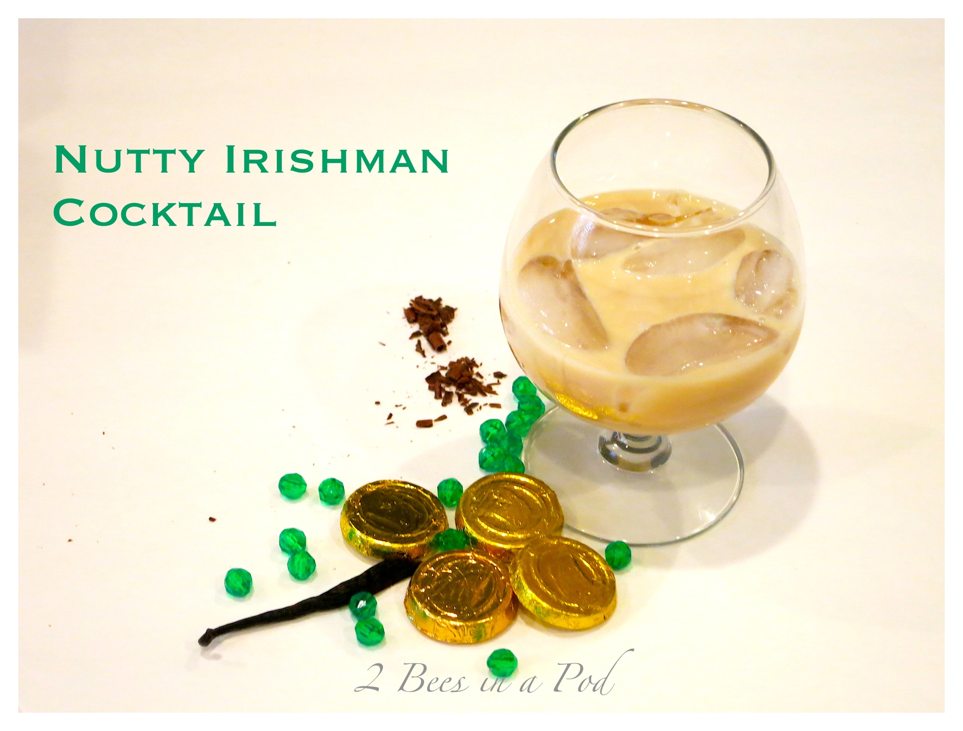 Nutty Irishman Cocktail - Creamy Bailey's Irish Cream and hazelnut Frangelico make for a wonderful cocktail!