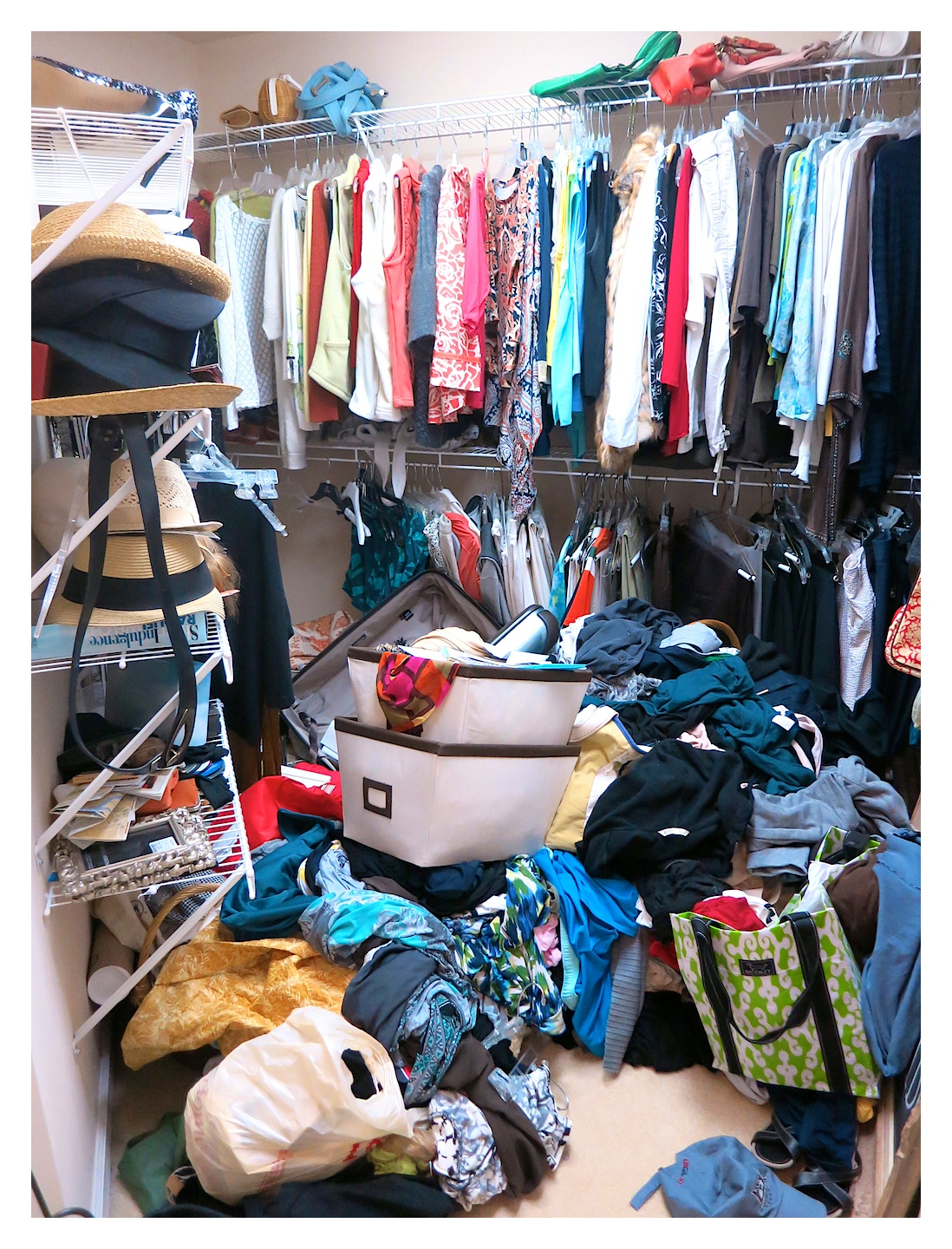 Master Closet Makeover…Part 1