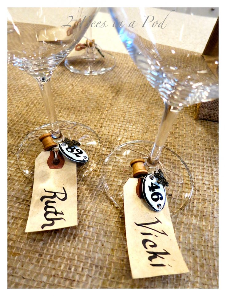 How to make a wine glass charm