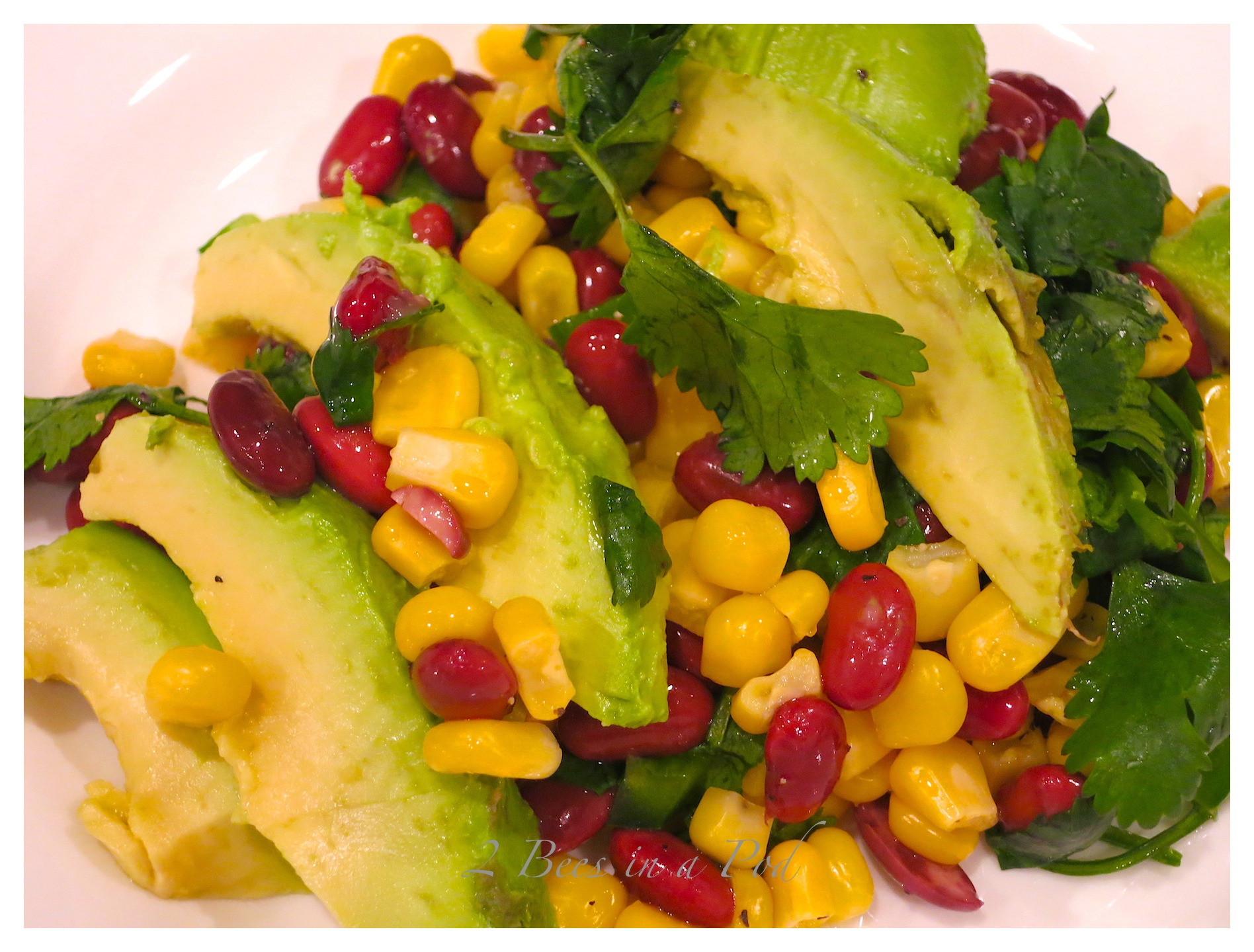 Black Bean, Corn and Avocado Salad…