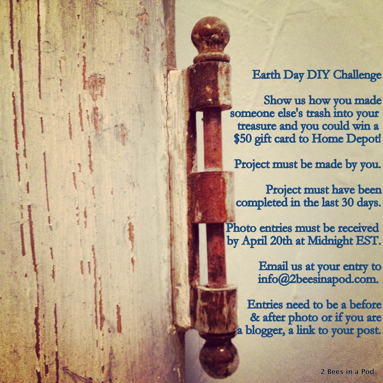 Earth Day DIY Challenge #repurpose #upcycle