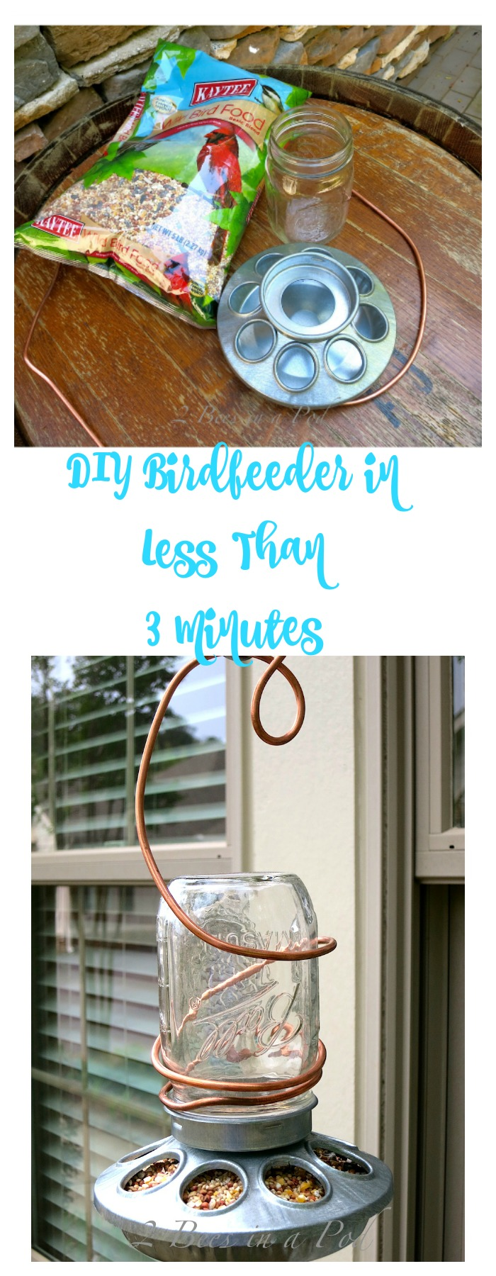 DIY Birdfeeder in less than 3 minutes