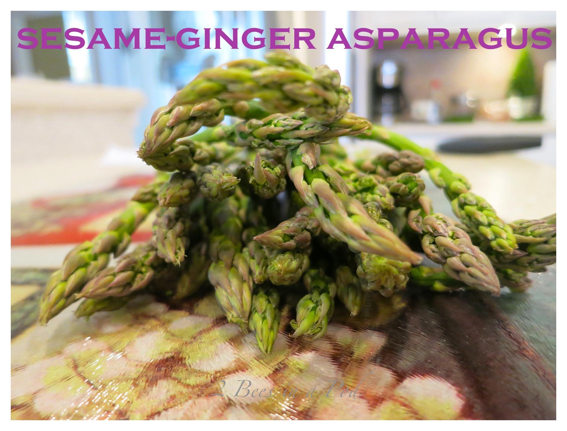 Sesame-Ginger Asparagus Light…