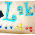 DIY – Lake Wall Art…