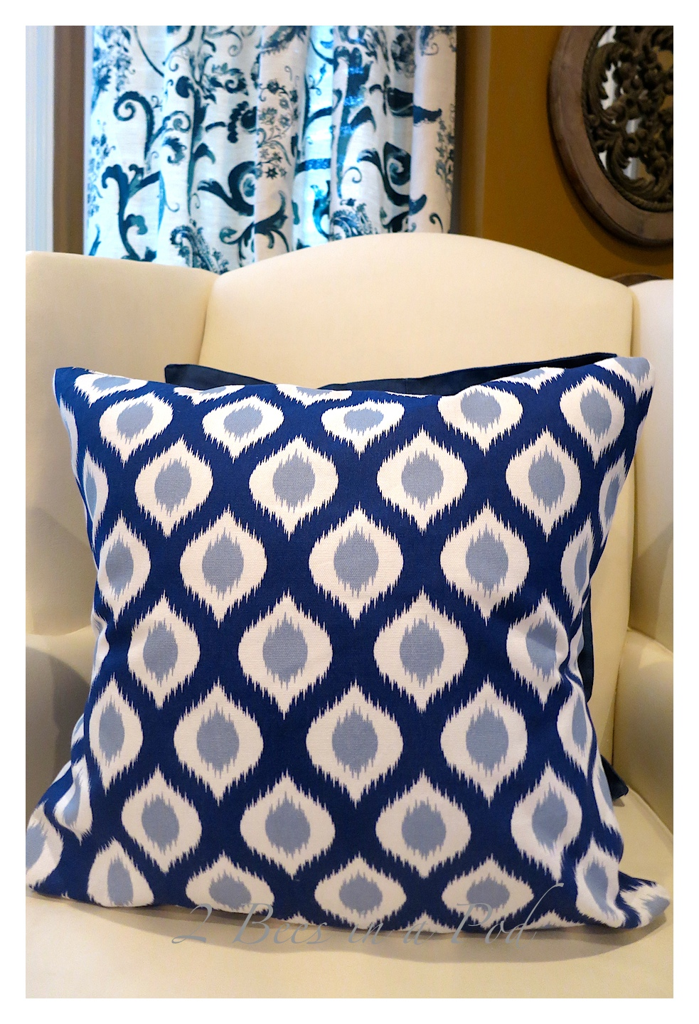 DIY Pillow Covers – Made with Dinner Napkins…