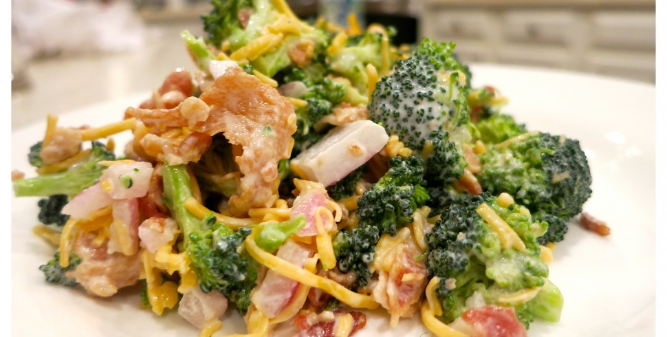 Southern Broccoli Salad…