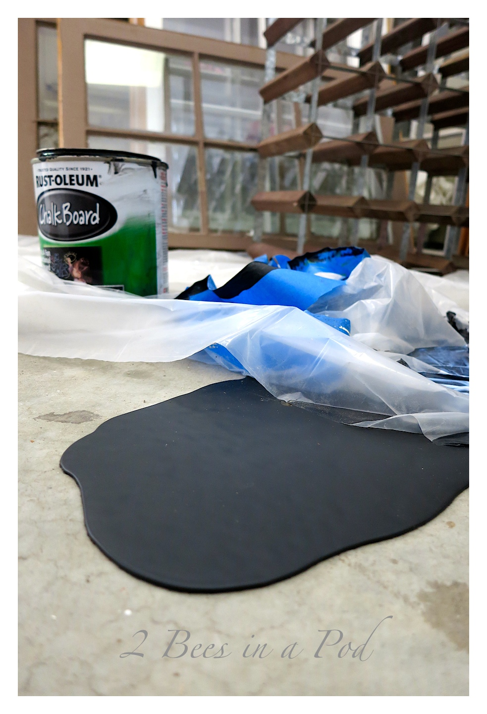 how to clean up spilled wet paint on concrete