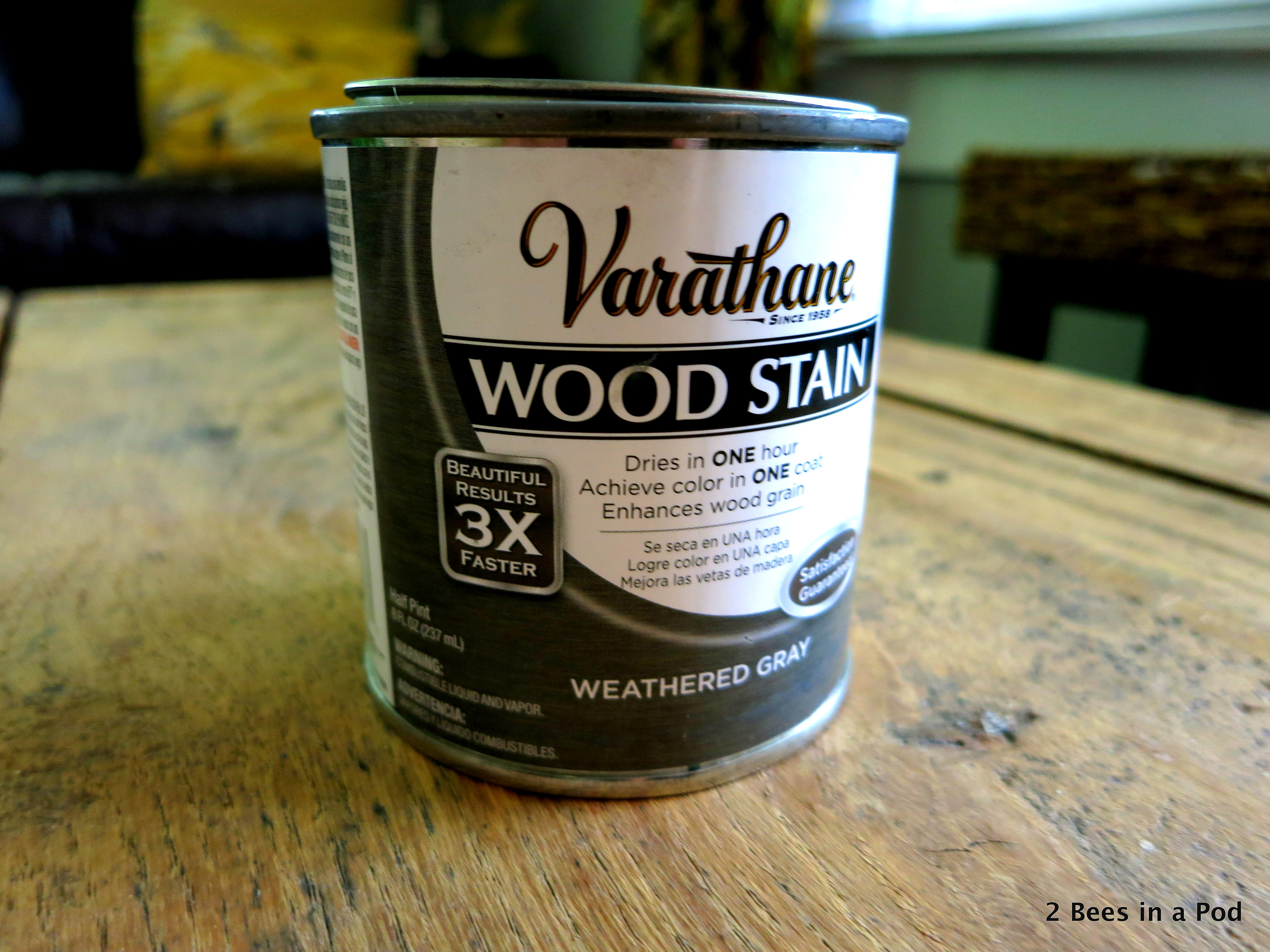 Stain by Rustoleum, Weather Grey