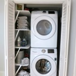 Laundry Closet Makeover Reveal