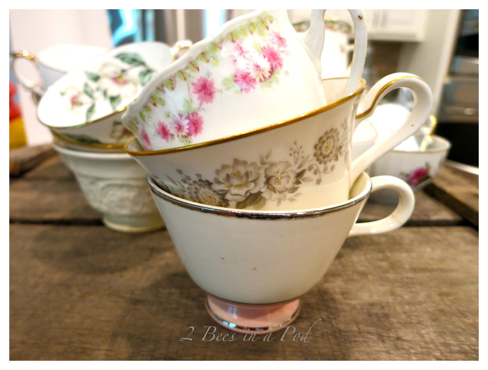 just 2 easy steps to create your own diy bridal shower party favor teacup candles