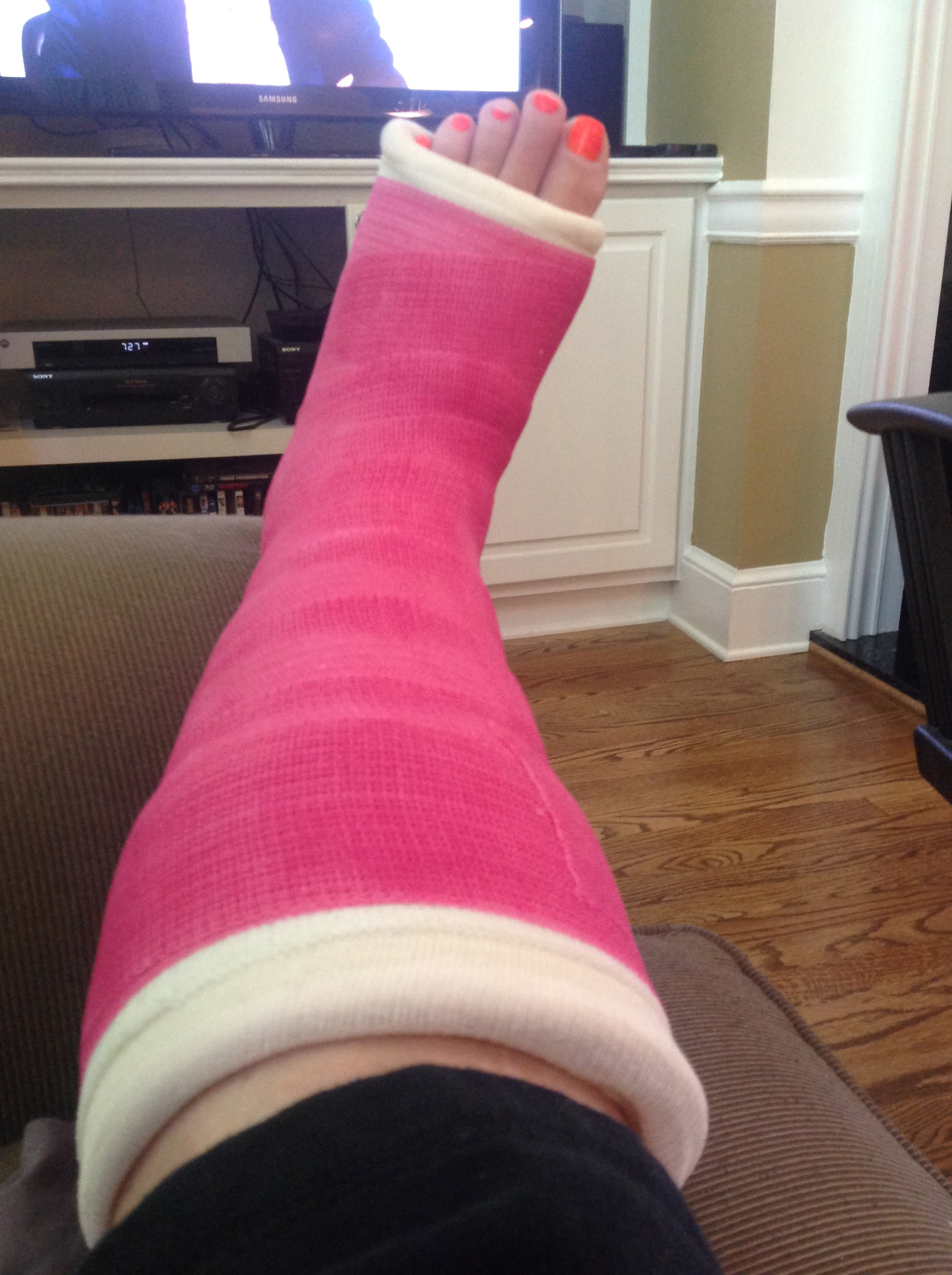 Yes I'm having a pity party...ankle surgery.