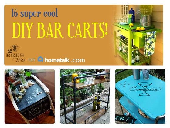 Hometalk and DIY Bar Carts Board…