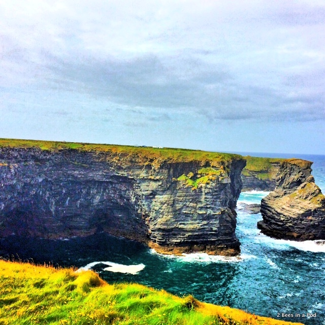 Cliffs at Kilkee - Co. Clare Ireland