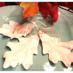 Fall Plaster Leaves…