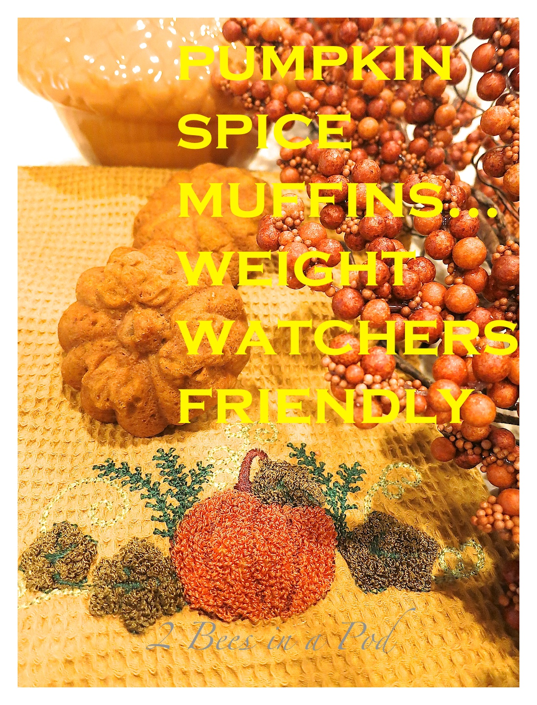 Great recipe for Weight Watchers Pumpkin Spiced Muffins. Yummy goodness without the points or extra calories!