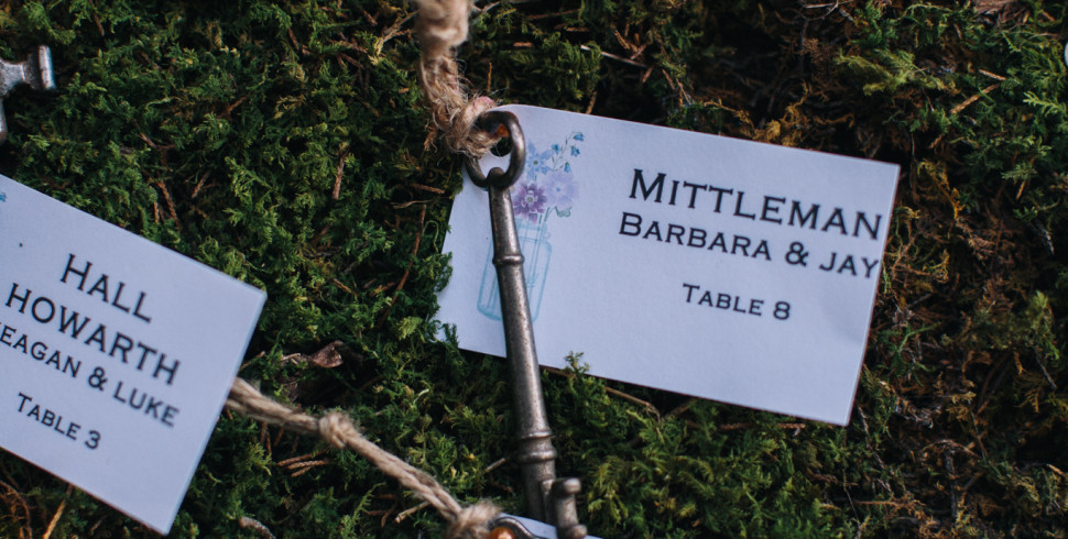 Wedding Escort Cards and Bridesmaids Gifts…
