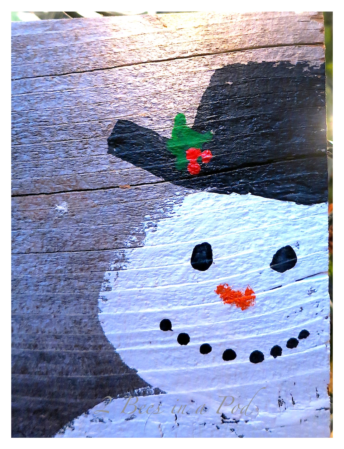 Rustic DIY Painted Snowman…
