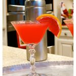 Blood Orange Martini…