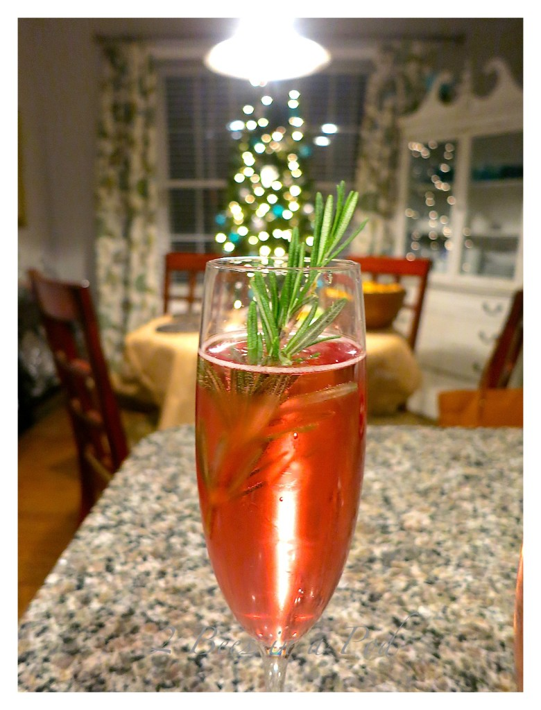 Poinsettia Cocktail... | 2 Bees in a Pod