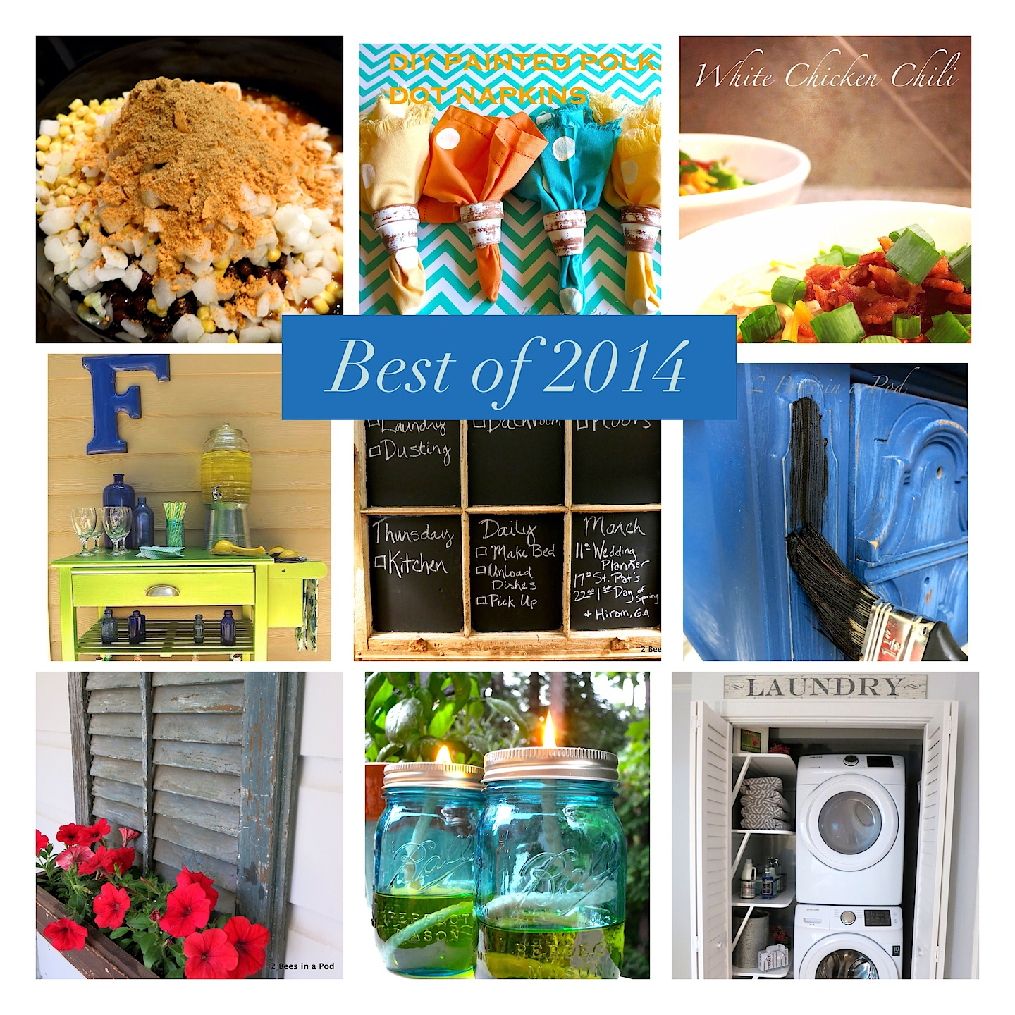 2 Bees in a Pod - Best of 2014 from our blog