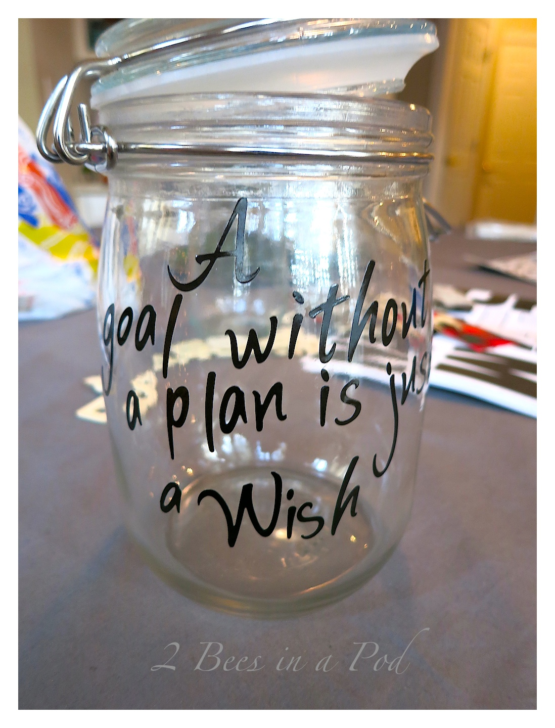 Quotes Jar Rememberlutions Jar And Update  2 Bees In A Pod