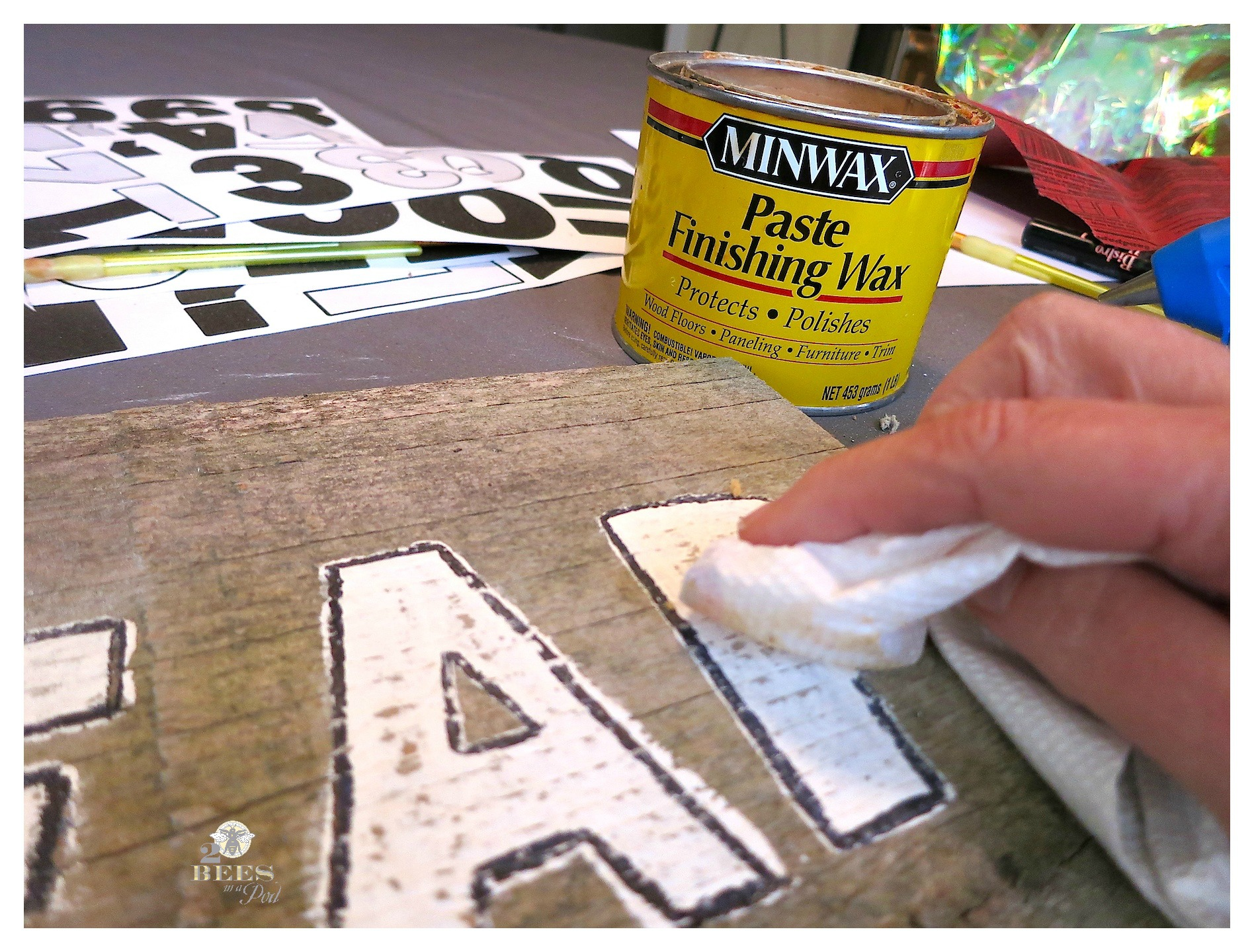 2015 Word of the Year and a DIY Rustic Sign