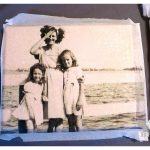 DIY Tissue Paper Photo Canvas…
