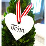 Valentine DIY Clay Gift Tag…