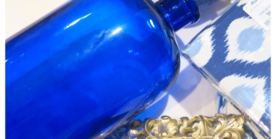 Decorating with Cobalt Blue…