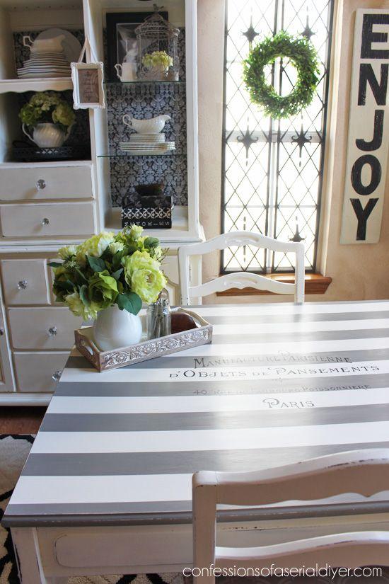 Painted furniture - beautiful painted Fresh set