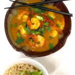 Coconut Curry Shrimp Light…