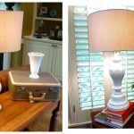 Brass Lamp Makeover