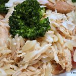 Slow Cooker Parmesan Chicken with Orzo