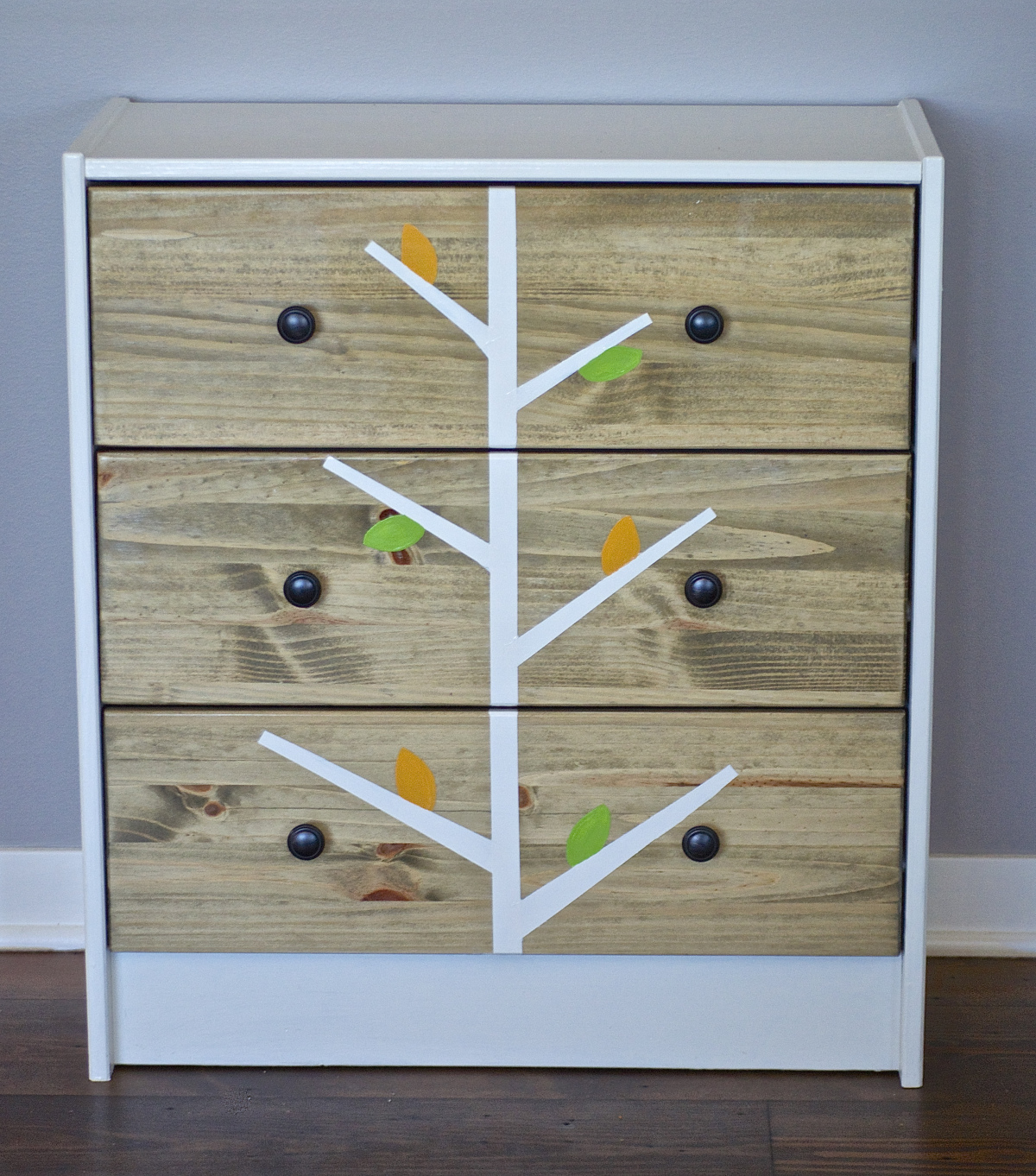 Love this Ikea Rast dresser makeover
