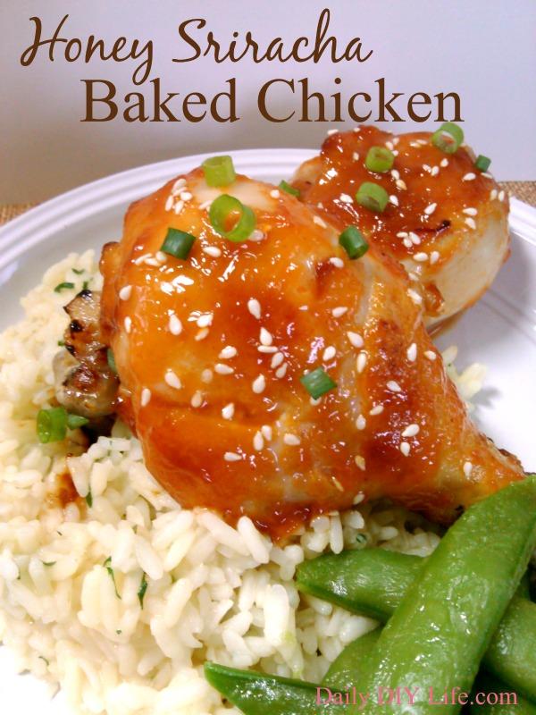 Honey-Sriracha-Baked-Chicken