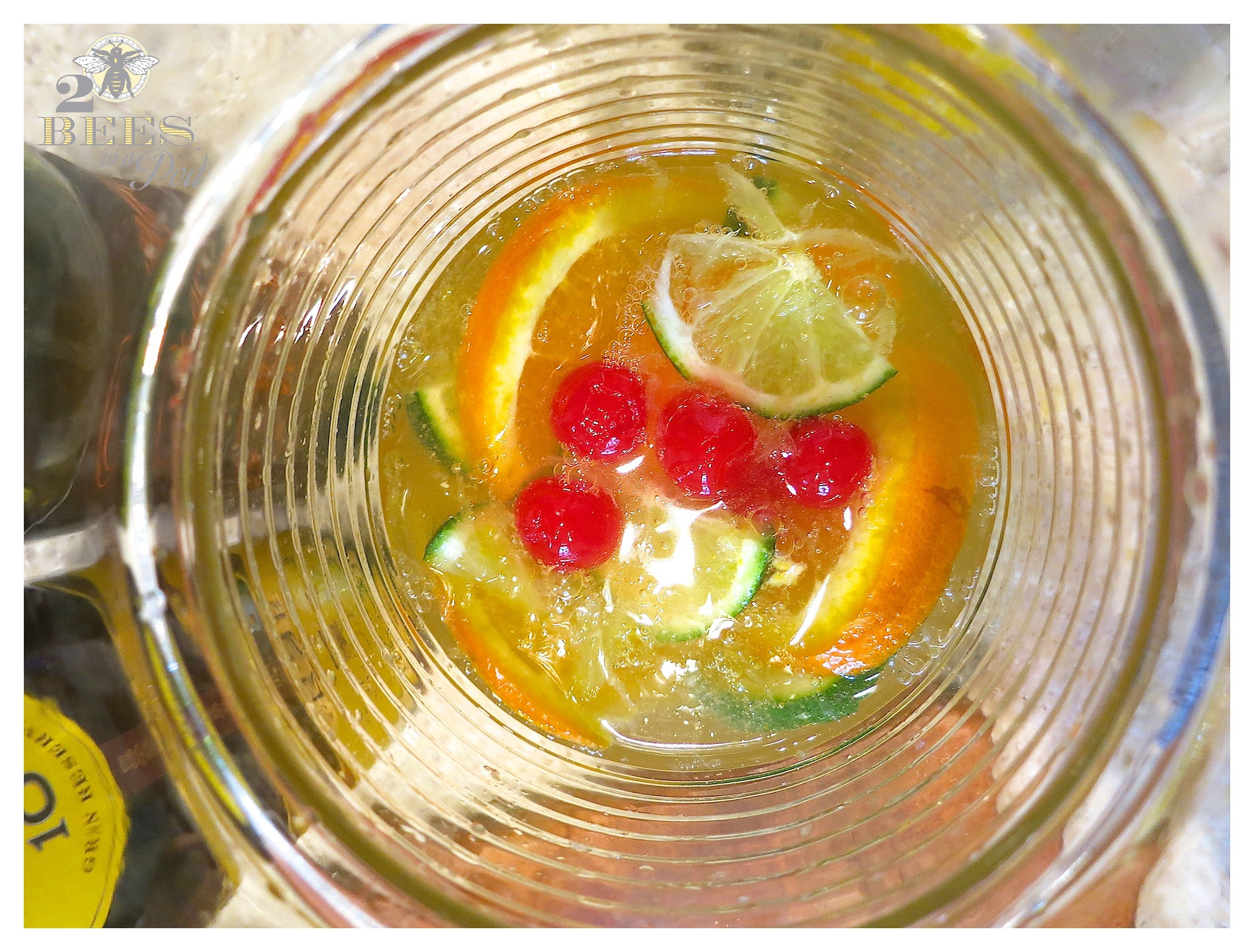 Sparkling White Sangria - Perfect for Spring and Summer - light citrus cocktail