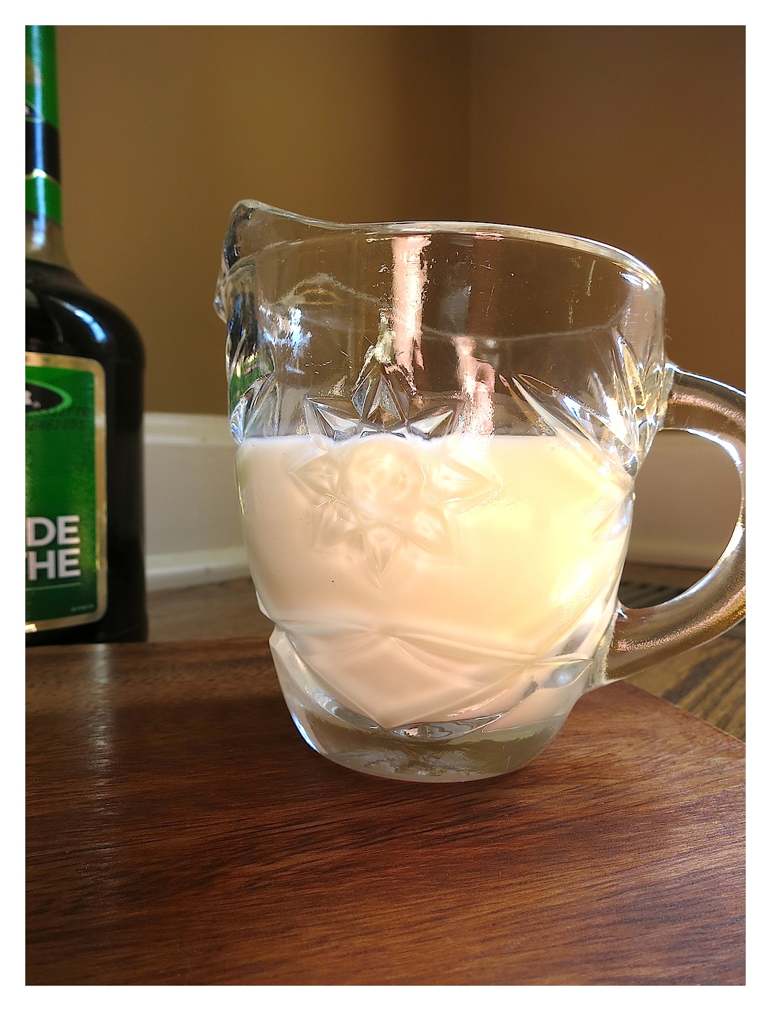 Family recipe swap for Mother's Day - Mom's Creme de Menthe Frosting. creamy and delicious!