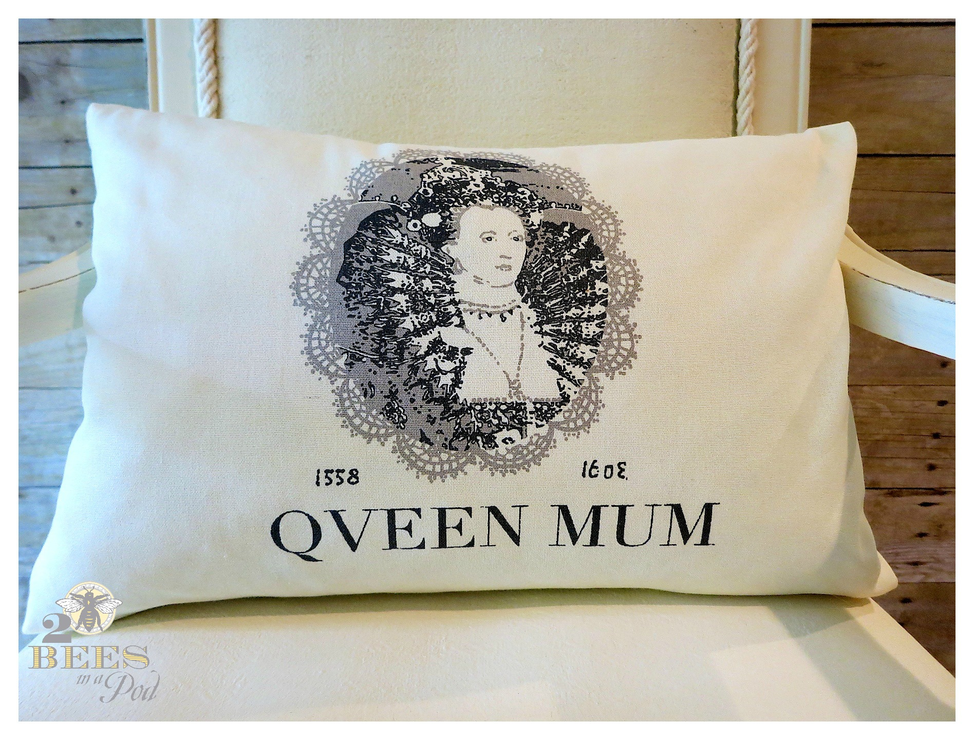 DIY Dish Towel Pillow - Create a new decorative pillow from a new dish towel. Super easy - close up the two sides, add pillow form and close up the bottom seam. You can sew, glue or iron-on adhesive strips!