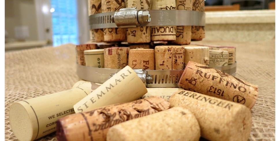 DIY Wine Cork Hot Pads…