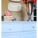 Paris Gray Chalk Paint Dresser Makeover