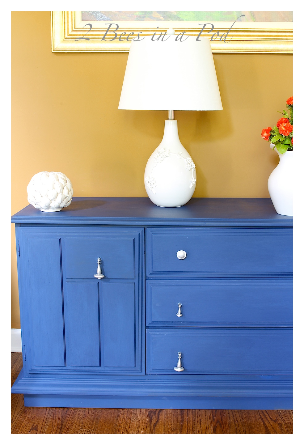 Chalk Painted Buffet Makeover on Annie Sloan Painted Furniture With Paint