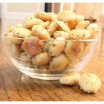 Ranch Oyster Crackers - yummy, flavorful snack or cocktail party nibble.