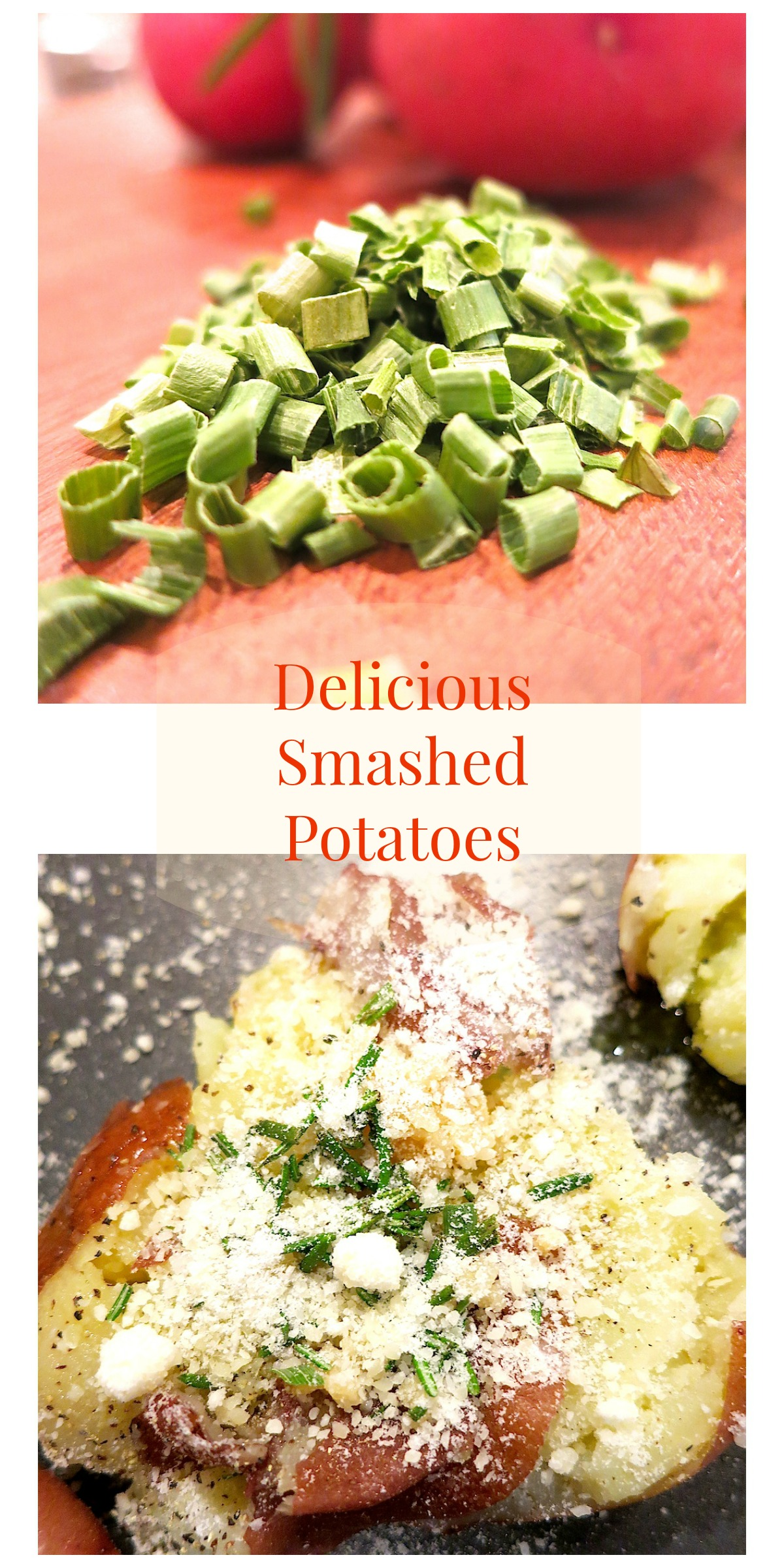Smashed Potatoes…super easy to make and very delicious!