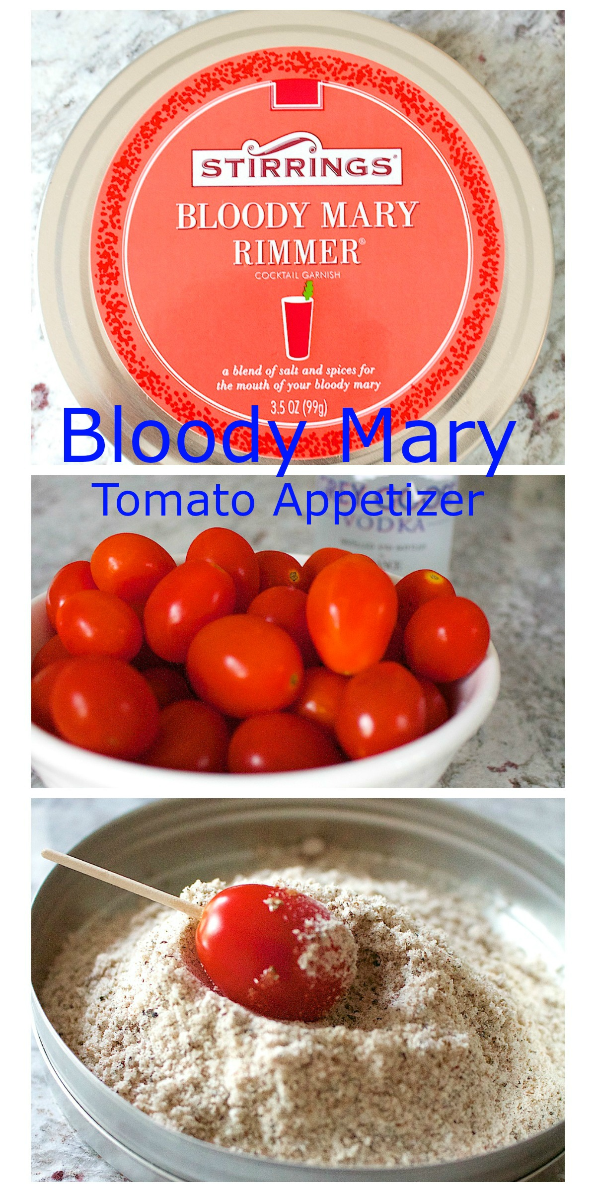 Bloody Mary Tomato Party Appetizer