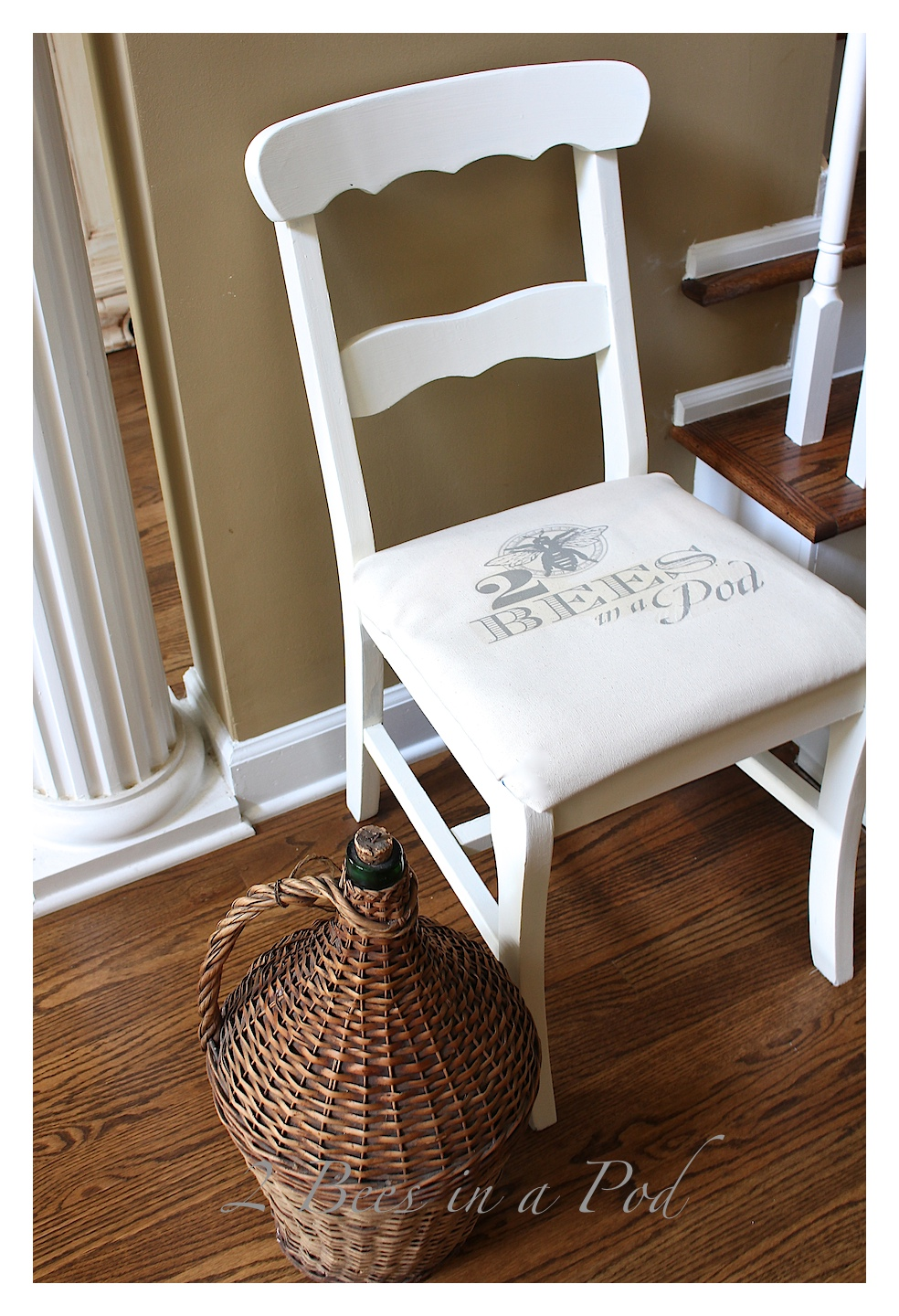 Trash to Treasure Chair Makeover.