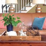 Coastal Inspired Coffee Table Decor