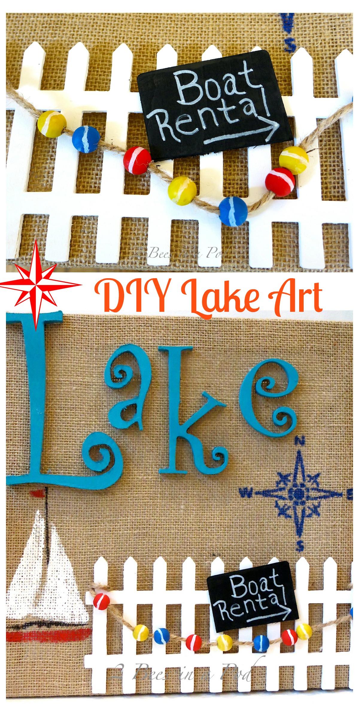 Lake Art Collage