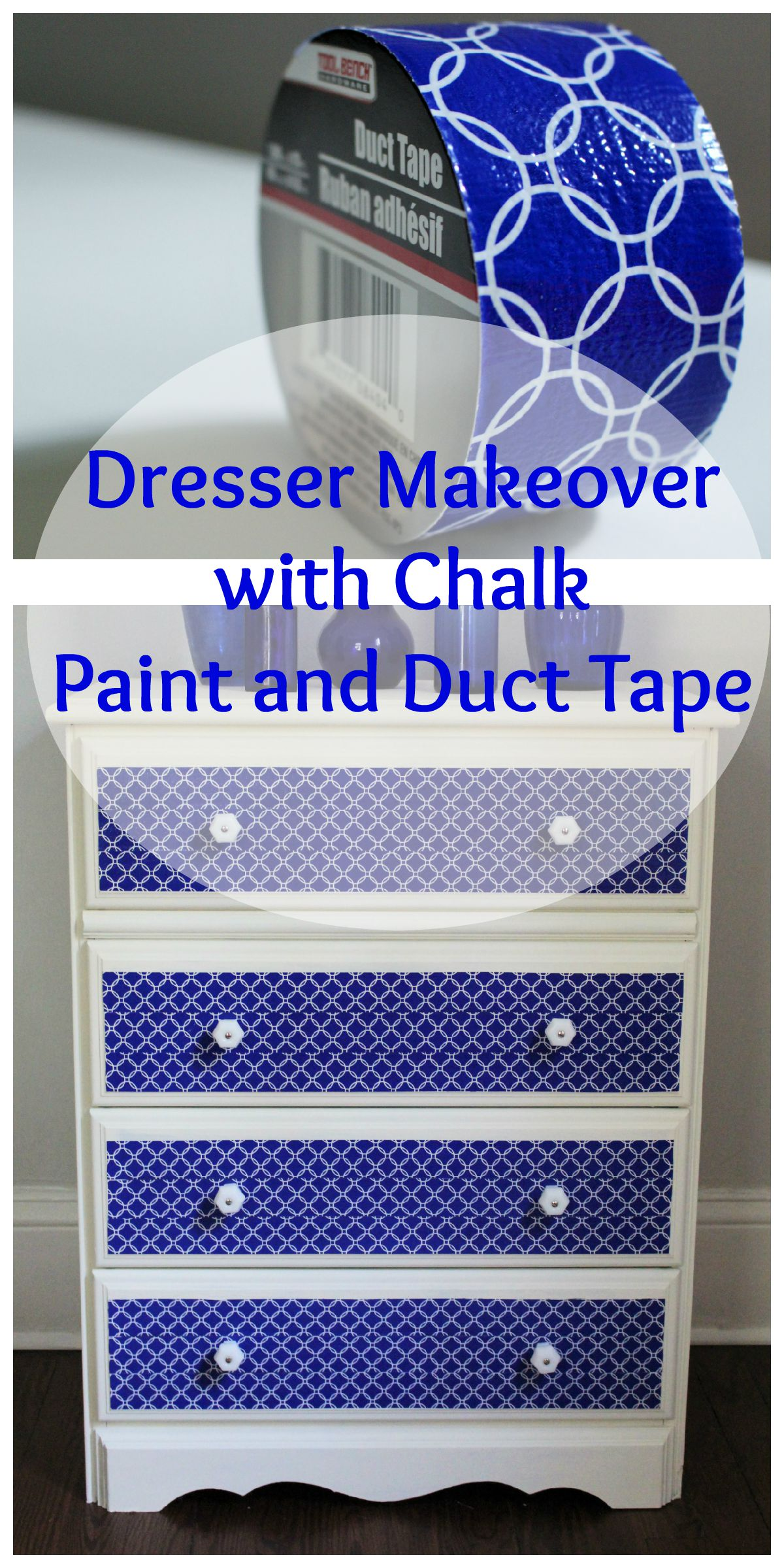 Duct Tape Dresser Collage