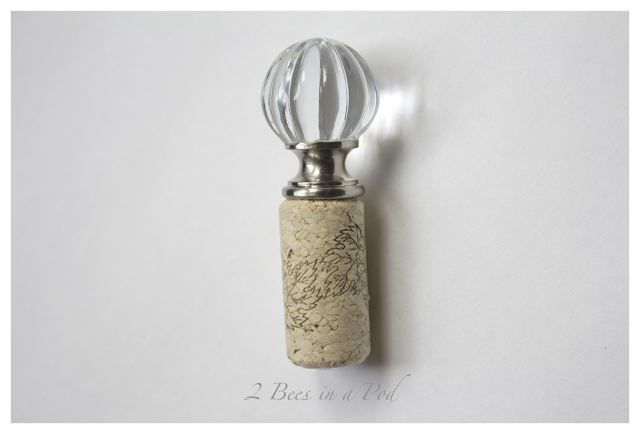 DIY Wine Bottle Stopper - perfect gift idea!